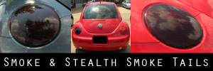 98-05 Volkswagen New Beetle Smoked Taillight Kit