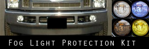 08-16 Ford F250 and F350 and F450 Fog Light Protection Kit