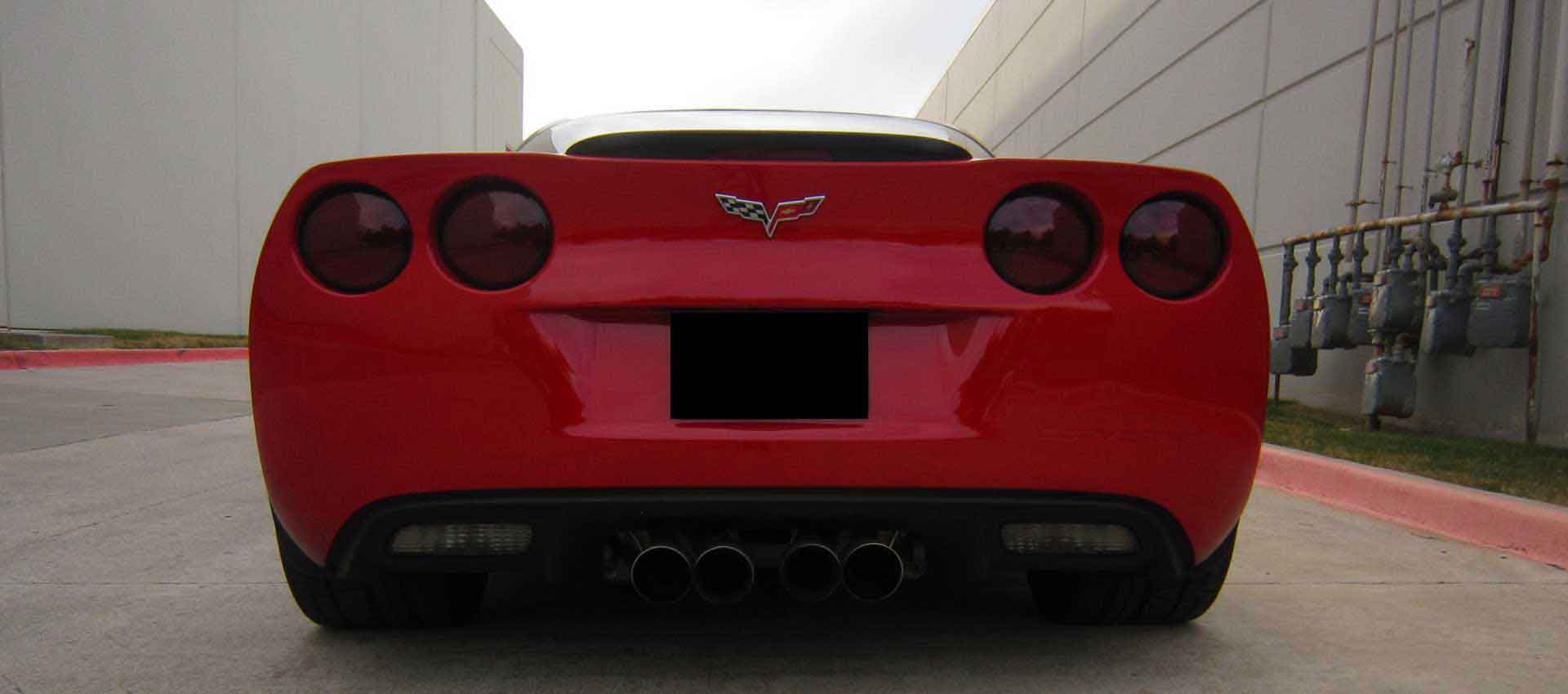 Smoked Taillight Kit - Corvette Z06