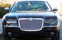 Chrysler 300C Smoked Headlight Protection Kit