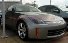 Nissan 350Z Light Smoked Headlight Protection Kit