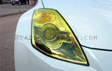 Nissan 350Z GT Yellow Headlight Protection Kit