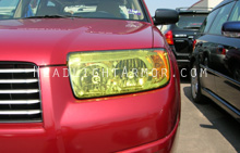 Subaru Forester GT Yellow Headlight Protection Kit