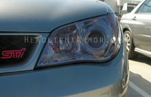 Subaru WRX STI Light Smoked Headlight Protection Kit
