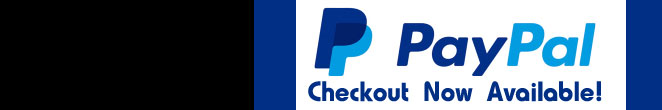 Now Offering Checkout Through PayPal