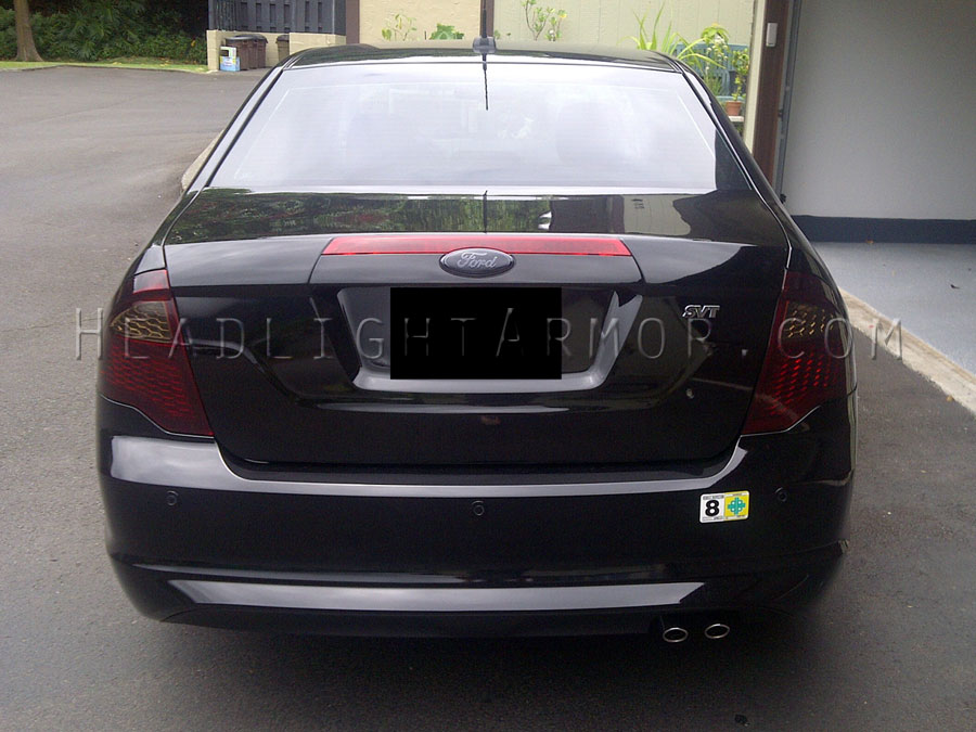 1012 Ford Fusion Smoked Taillight Film Kit
