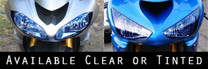 Kawasaki Motorcycle Headlight Protection Kit