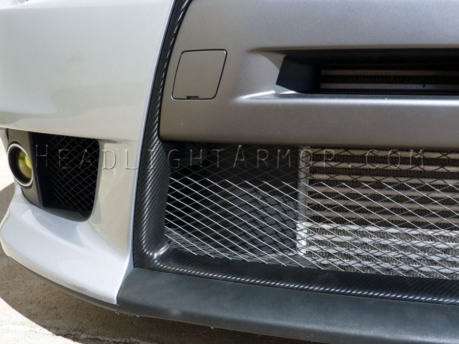 Hexis 3d Textured Carbon Fiber Wrap From Headlight Armor