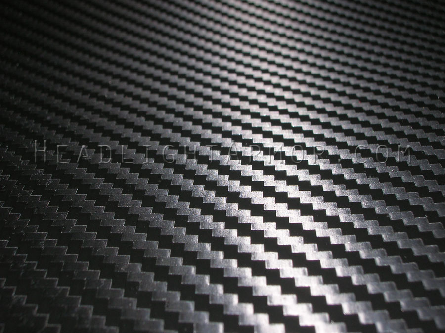 Hexis 3d Textured Carbon Fiber Wrap From Headlight Armor