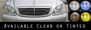 00-02 Mercedes-Benz S420, S500, S600, S55 Headlight Protection Kit
