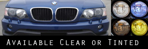01-03 BMW X5 Headlight Protection Kit