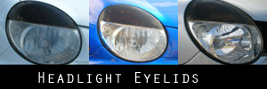 02-03 Subaru Impreza and WRX Headlight Eyelid Kit