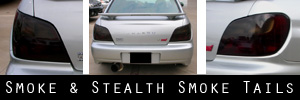 02-03 Subaru Impreza and WRX Sedan Smoked Taillight and TBL Kit