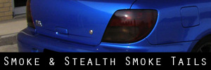 02-03 Subaru Impreza and WRX Wagon Smoked Taillight and TBL Kit
