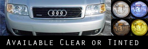 02-04 Audi A6  Headlight Protection Kit