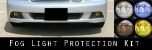 03-04 Subaru Legacy Oval Fog Light Protection Kit
