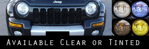 02-04 Jeep Liberty Headlight Protection Kit