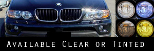 04-06 BMW X5 Headlight Protection Kit