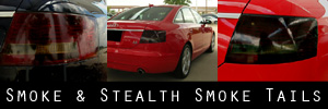 05-08 Audi A6 and S6 Sedan Smoked Taillight Kit