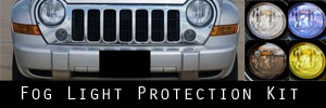 05-07 Jeep Liberty Fog Light Protection Kit