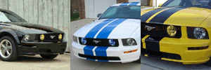 05-09 Ford Mustang GT Grill Light Protection Kit