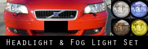 05-10 Volvo S60 Headlight and Fog Light Protection Kit