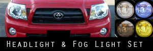 05-11 Toyota Tacoma Headlight and Fog Light Protection Kit