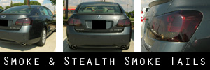 06-11 Lexus GS Smoked Taillight Kit