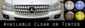 06-08 Mercedes-Benz ML320, ML350, ML500 Headlight Protection Kit