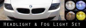 06-08 BMW Z4 Headlight and Fog Light Protection Kit