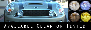 07-13 Mini Cooper / S / Clubman w/headlight washers Headlight Protection