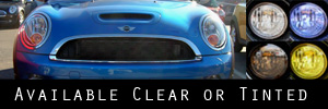 07-13 Mini Cooper / S / Clubman wo/headlight washers Headlight Protection Kit