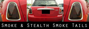 07-13 Mini Cooper / S Smoked Taillight Kit