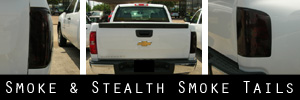 07-13 Chevrolet Silverado Smoked Taillight Kit