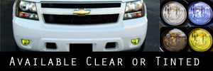 07-14 Chevrolet Tahoe and Suburban Fog Light Protection Kit