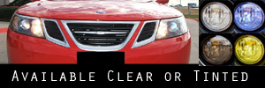 08 Saab TurboX Headlight Protection Kit