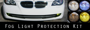 08-10 BMW E60 5 Series Fog Light Protection Kit