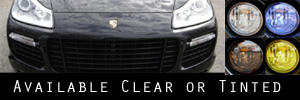 08-10 Porsche Cayenne Turbo and GTS Bumper Light Protection Kit