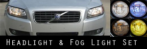 07-13 Volvo S80 Headlight and Fog Light Protection Kit