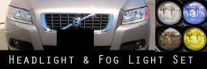 08-10 Volvo V70 Headlight and Fog Light Protection Kit