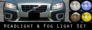08-13 Volvo XC70 Headlight and Fog Light Protection Kit