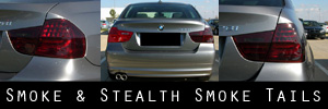 09-11 BMW 3 Series Sedan Smoked Taillight Kit