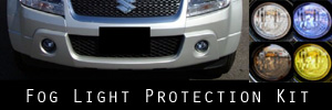 09-11 Suzuki Grand Vitara Fog Light Protection Kit