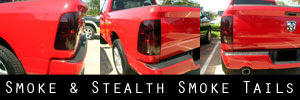 09-18 Dodge RAM Smoked Taillight Kit