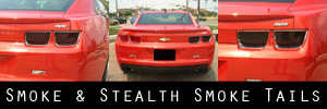 10-13 Chevrolet Camaro Smoked Taillight and Side Reflectors Kit