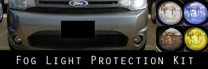 10-11 Ford Focus SES Sedan Fog Light Protection Kit