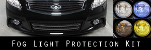 10-13 Infiniti G37 Sedan Fog Light Protection Kit