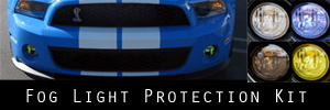 10-14 Ford Mustang Shelby GT500 Fog Light Protection Kit