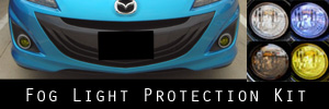 10-13 Mazda Mazdaspeed3 Fog Light Protection Kit