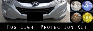 10-15 Hyundai Tucson Fog Light Protection Kit